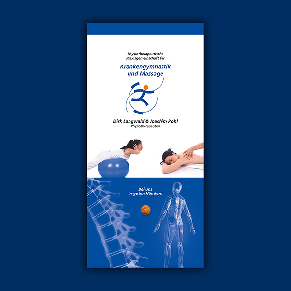 Image-Folder Physiotherapie Pohl